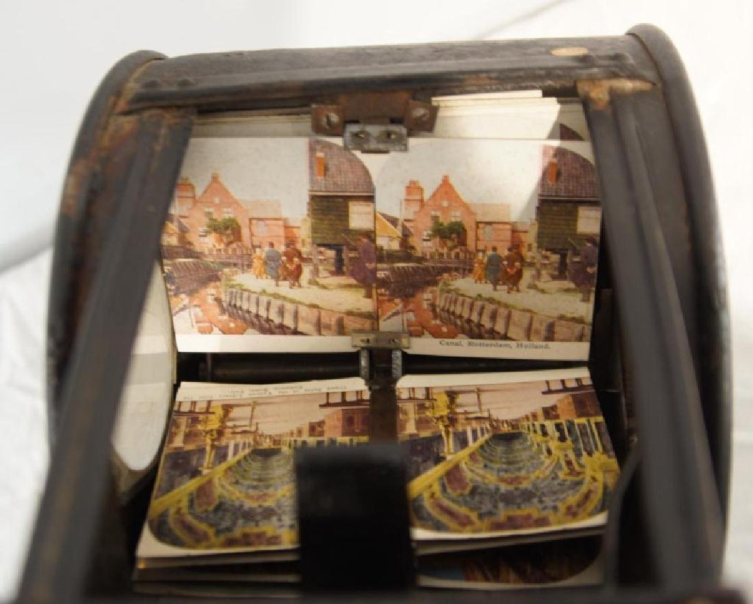 Antique Stereoscope viewer - 5