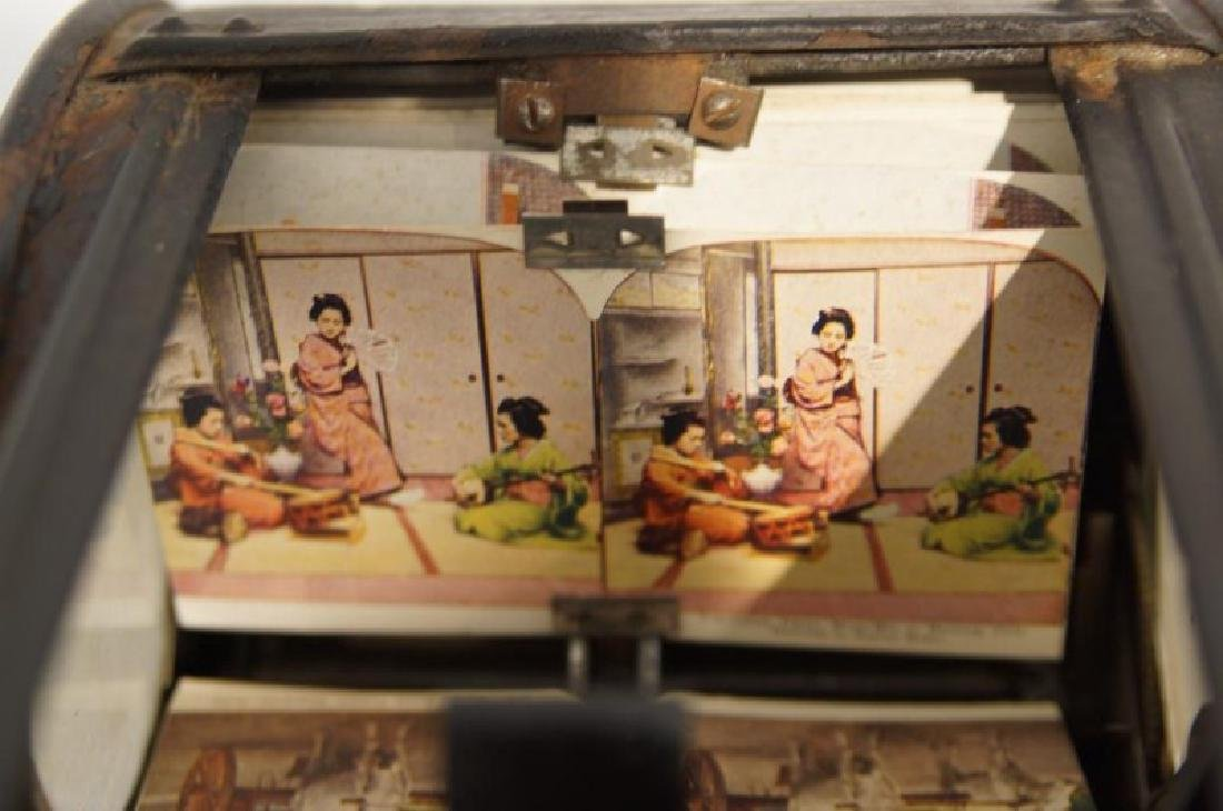 Antique Stereoscope viewer - 6