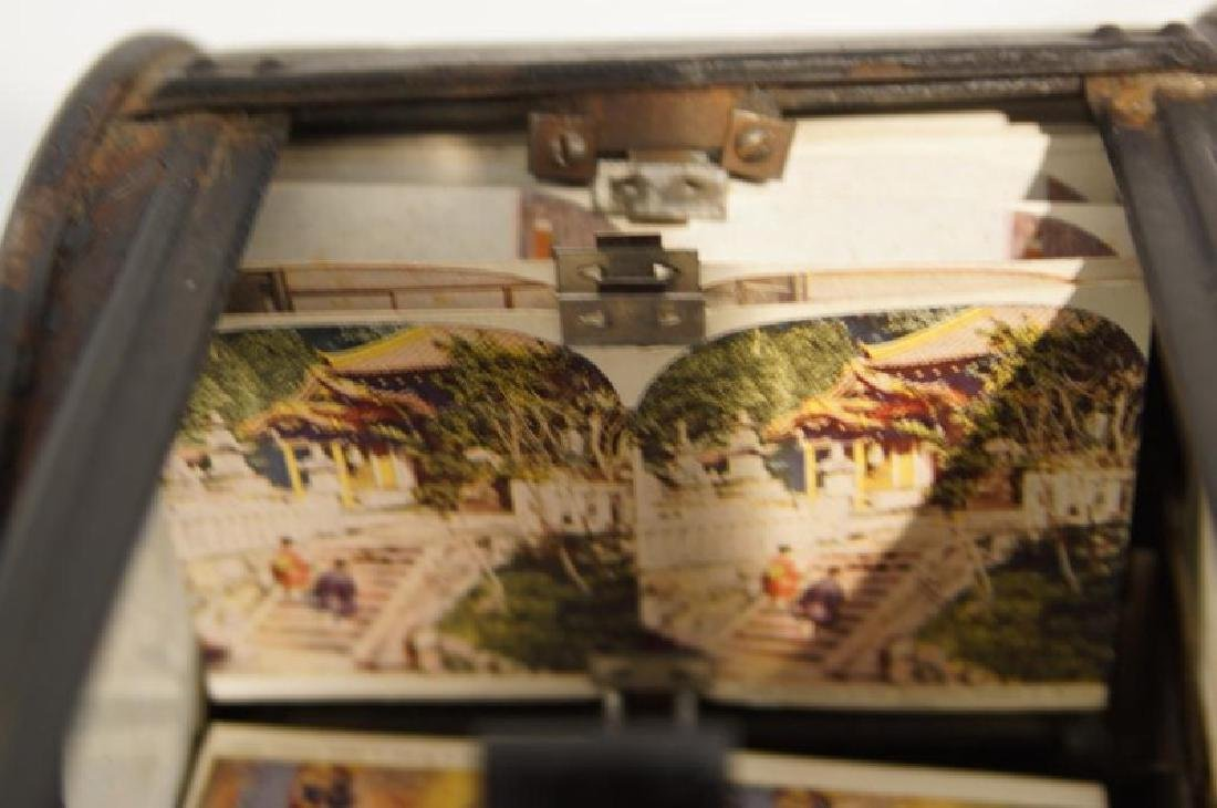 Antique Stereoscope viewer - 7