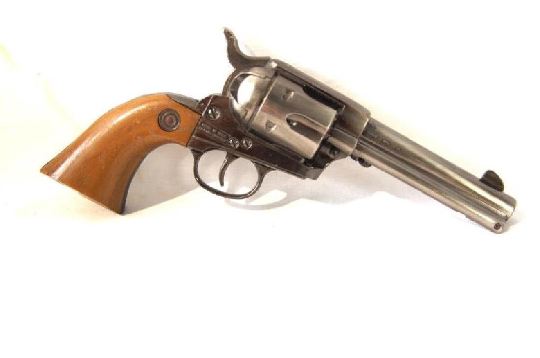 Western Gun Belt, Spurs and Replica Colt Lightning - 6