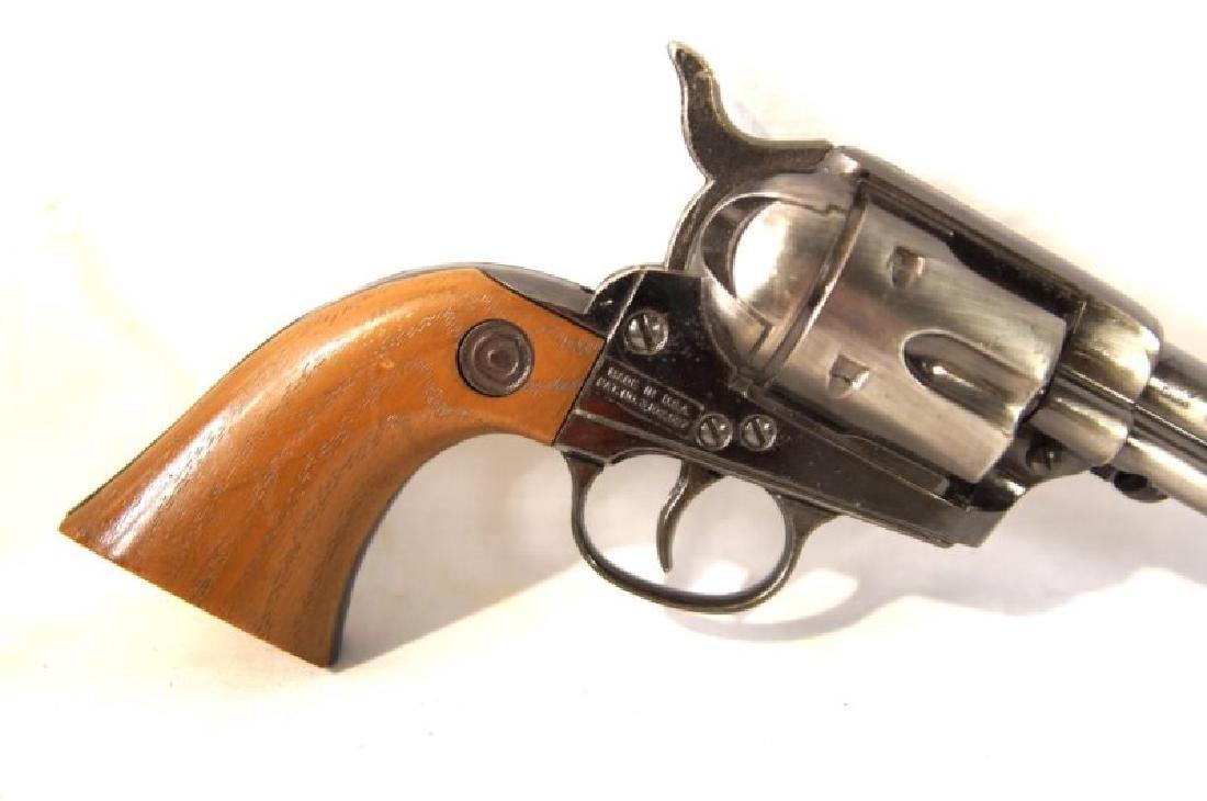 Western Gun Belt, Spurs and Replica Colt Lightning - 7