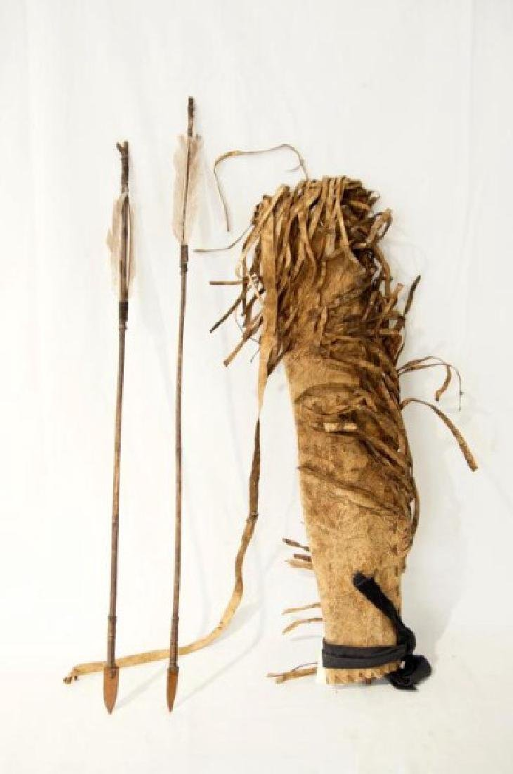 Plains Indians Painted Quill & Arrows - 5
