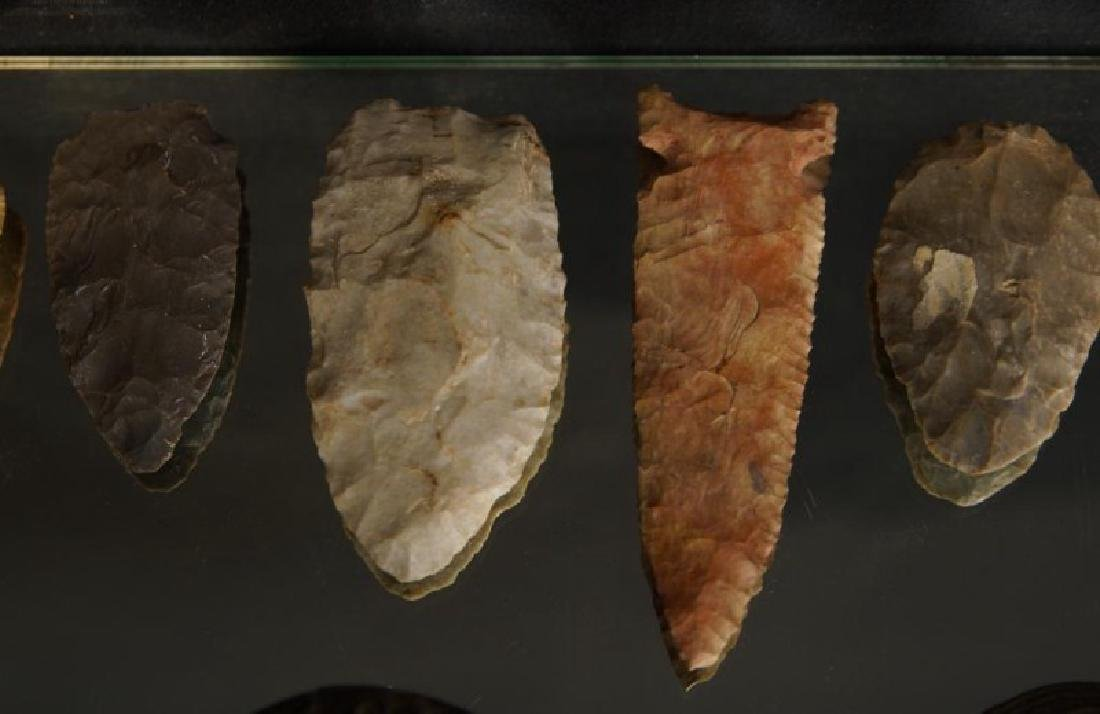 Pre Colombian Arrowheads, beads, buttons, tools - 2