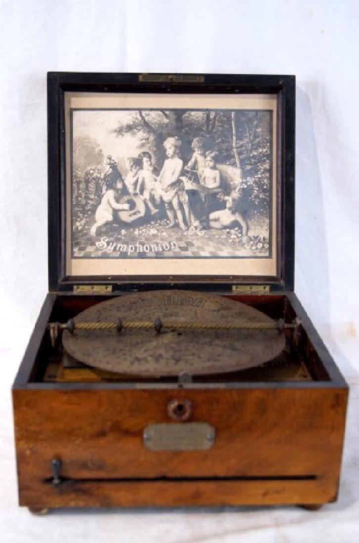 19th c. Symphonion music box