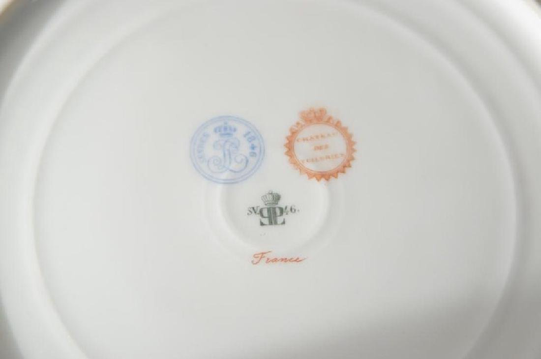4 French Sevres Hand painted plates w Cherubs - 6
