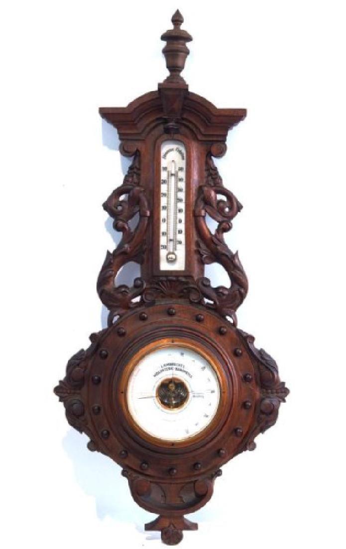 Antique Barometer Lambrecht's Hamberg