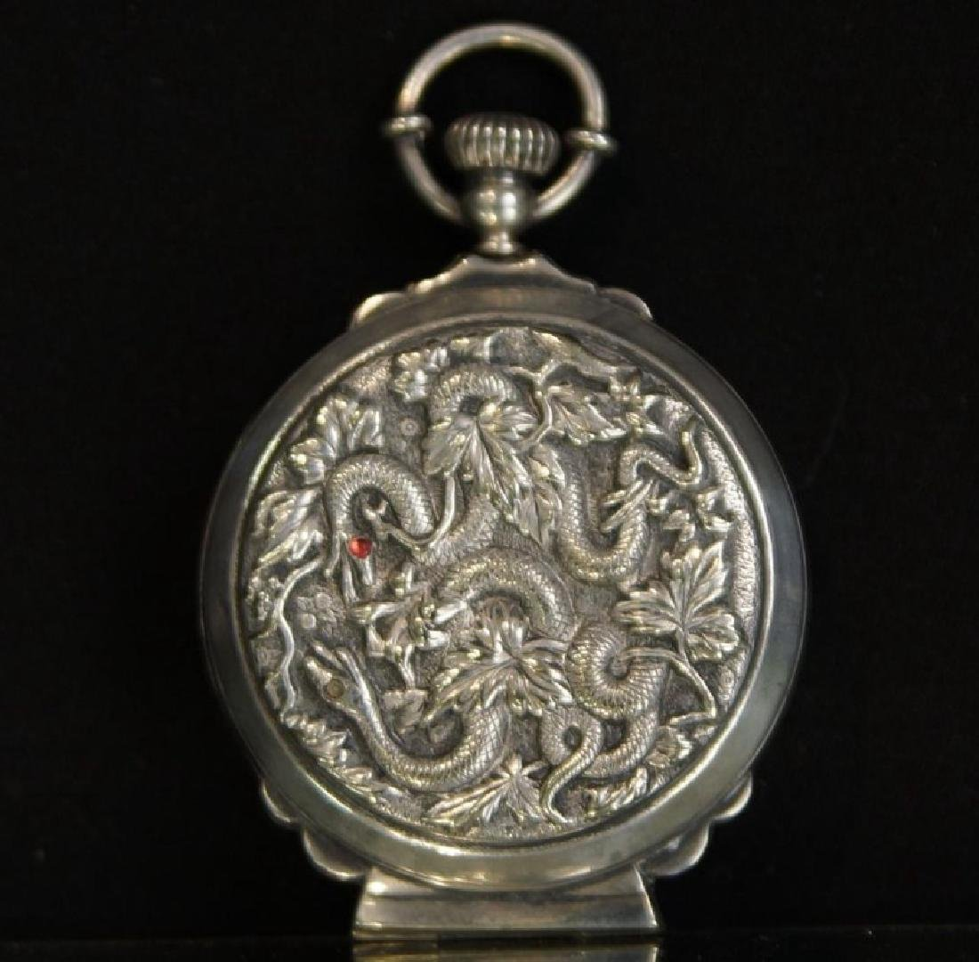 Rare prohibition Chinese silver hidden jigger