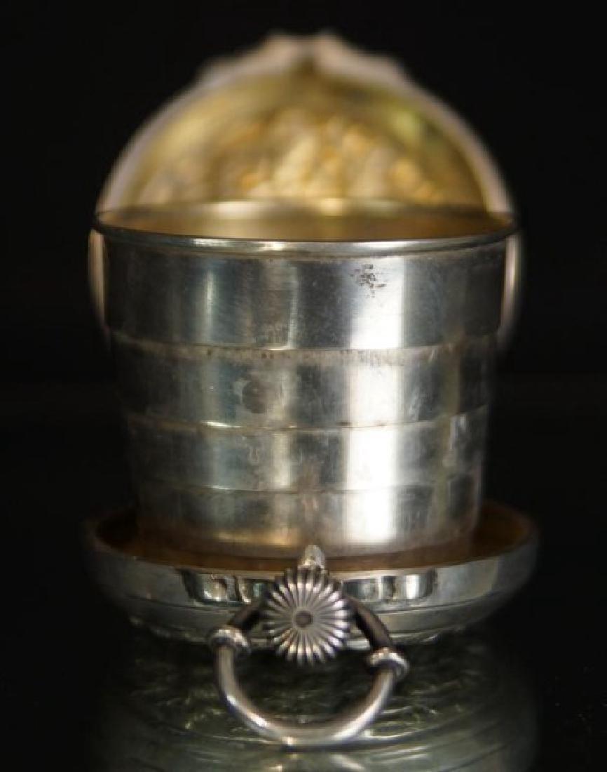 Rare prohibition Chinese silver hidden jigger - 6