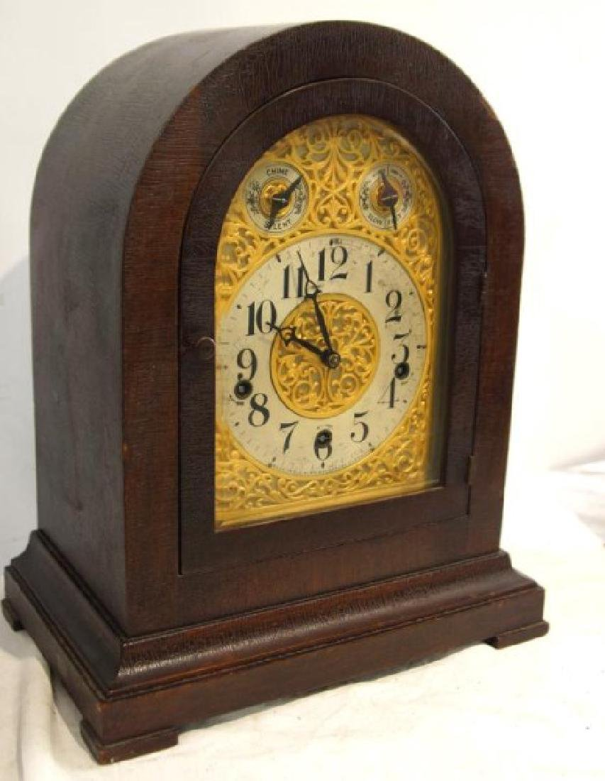 Waterbury Mantle clock with Westminster Chime - 2