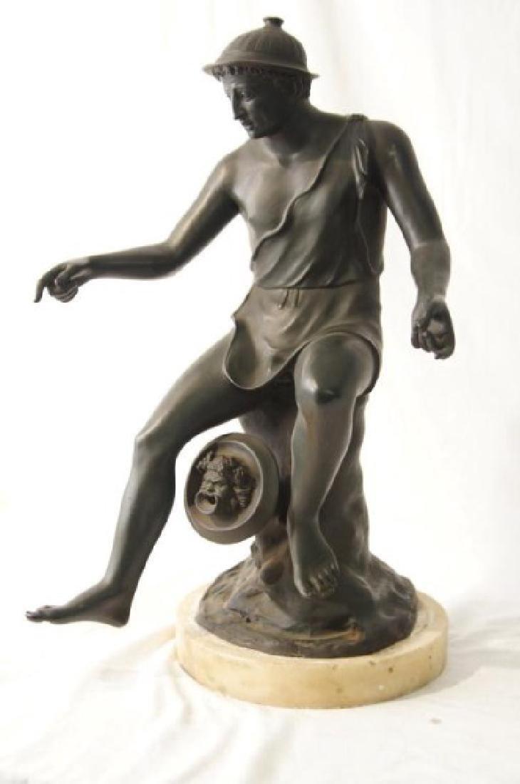 19th cent Bronze Depicting Mercury - 2