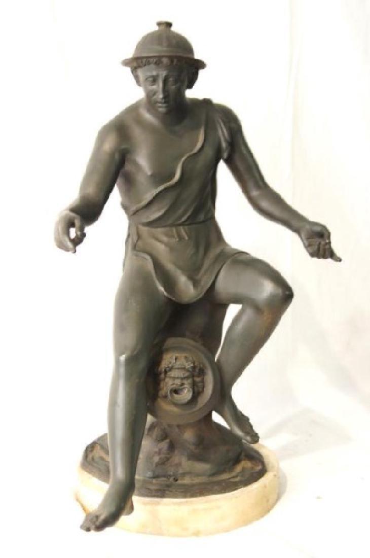 19th cent Bronze Depicting Mercury - 3