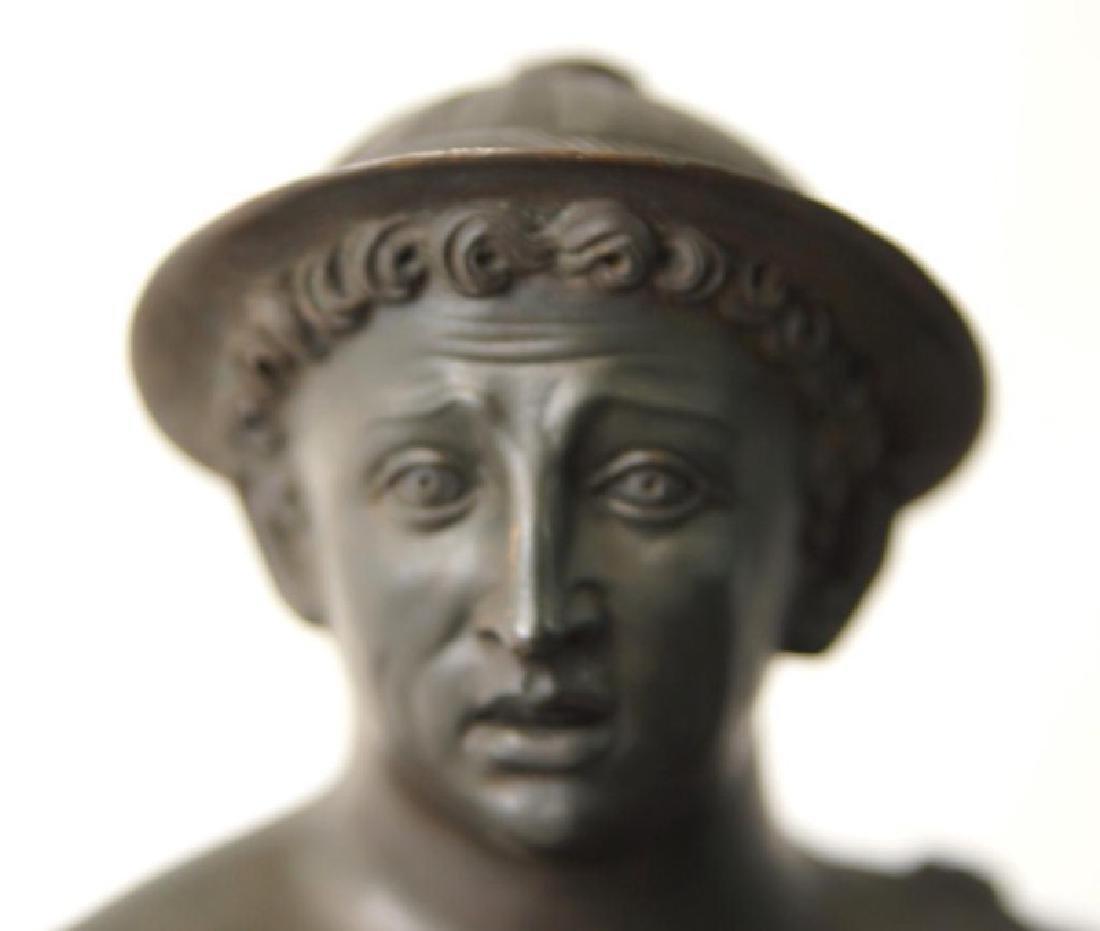 19th cent Bronze Depicting Mercury - 4