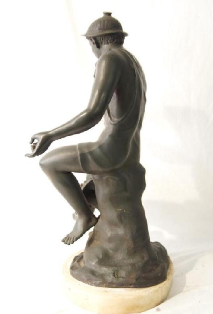 19th cent Bronze Depicting Mercury - 7