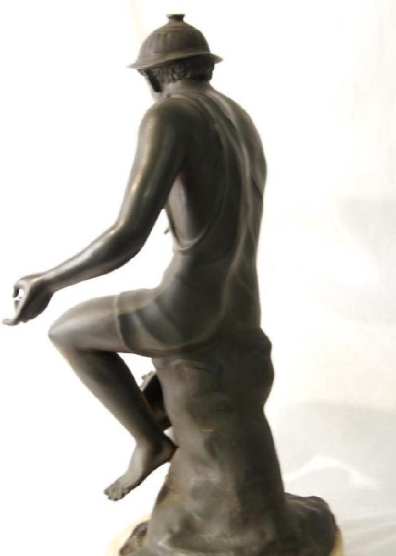 19th cent Bronze Depicting Mercury - 8
