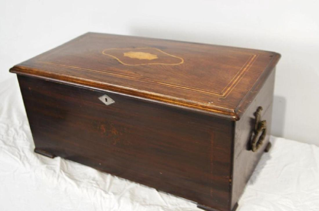 19th c. Swiss Orchestral music box -10 tune - 9