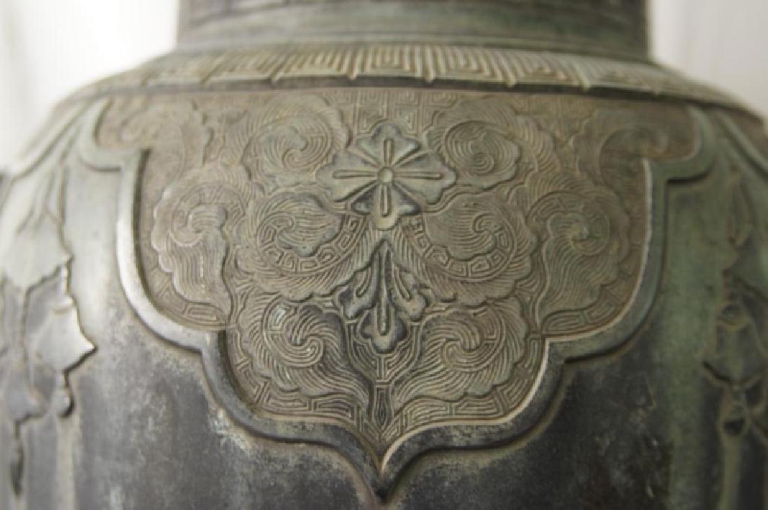 Chinese bronze Samovar - Dragon spiget - 7