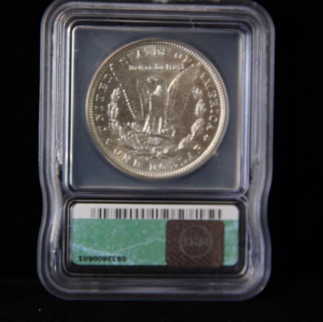 MORGAN SILVER DOLLAR  1884 AU 55 - 2