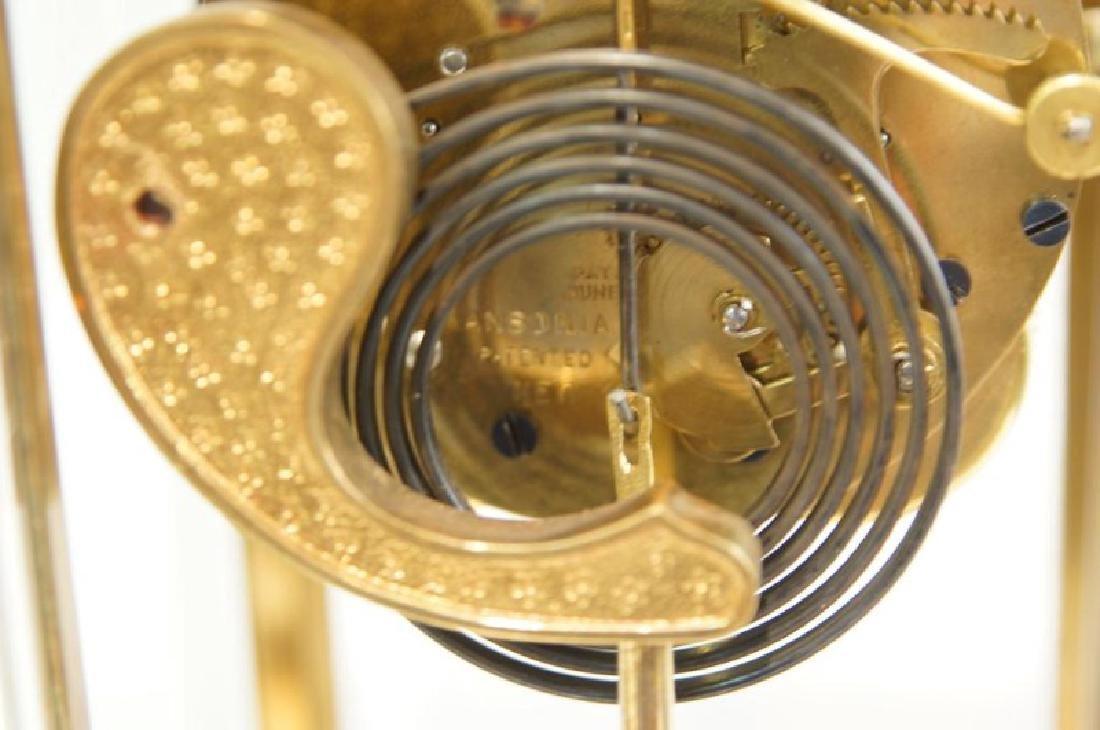 Brass carriage clock - 4