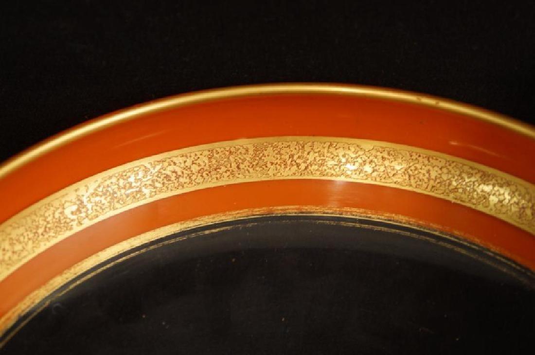 Antique French Art glass centerpiece set - 3