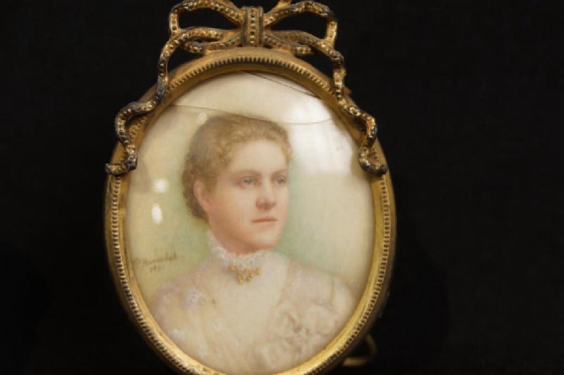 Antique mini picture Frames - 5 pcs 5  Antique silver - 6
