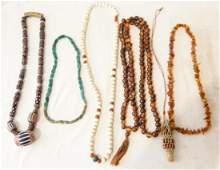 Ethnic jewelry  beaded necklaces
