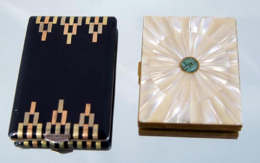Two Art Deco Cigarette Cases