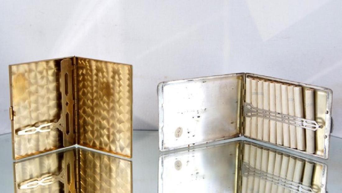 Two Art Deco Cigarette Cases - 2