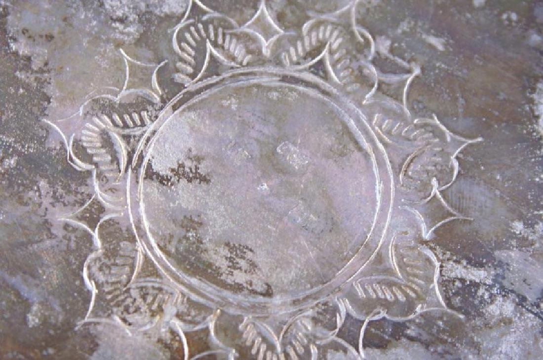 Silver bowl w figures - 10