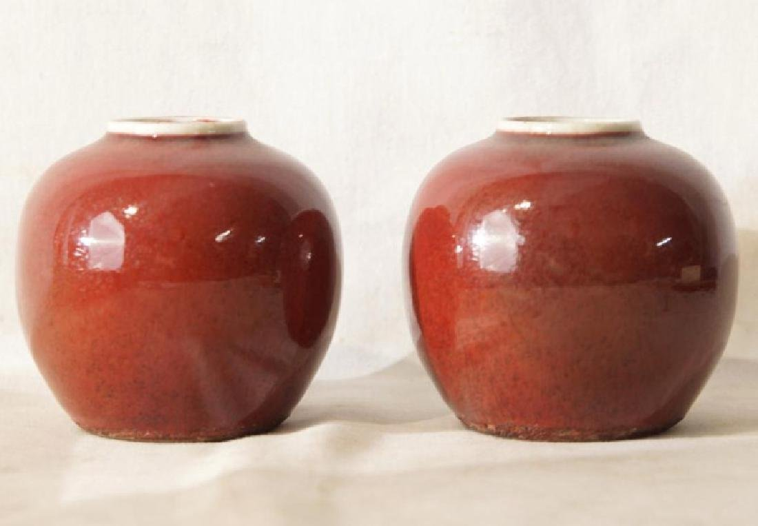 Pair of Chinese export vases - 4