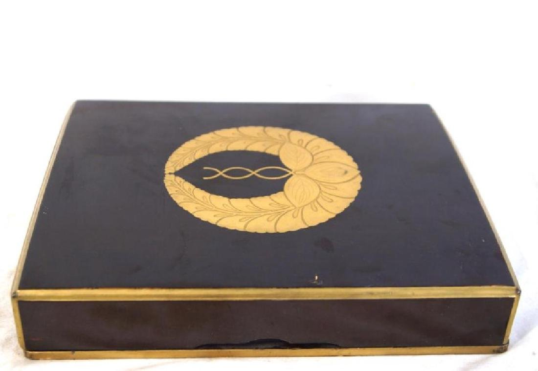 Japanese Pillow book in lacquer box - 3