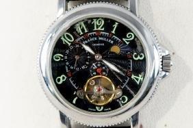 Franck Muller Geneve Skeleton watch