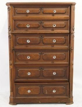 "Victorian ""Lockside"" highboy"