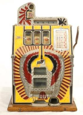 Mills War Eagle 25c slot machine