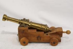 Brass Signal Cannon