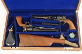 Dual US Cavalry Colt 1860 Army 1777-1977