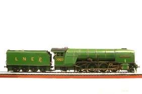 LNER Sir James Jeans Live Steam Locomotive 2-8-2