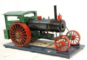 Live Steam Avery model engine tractor
