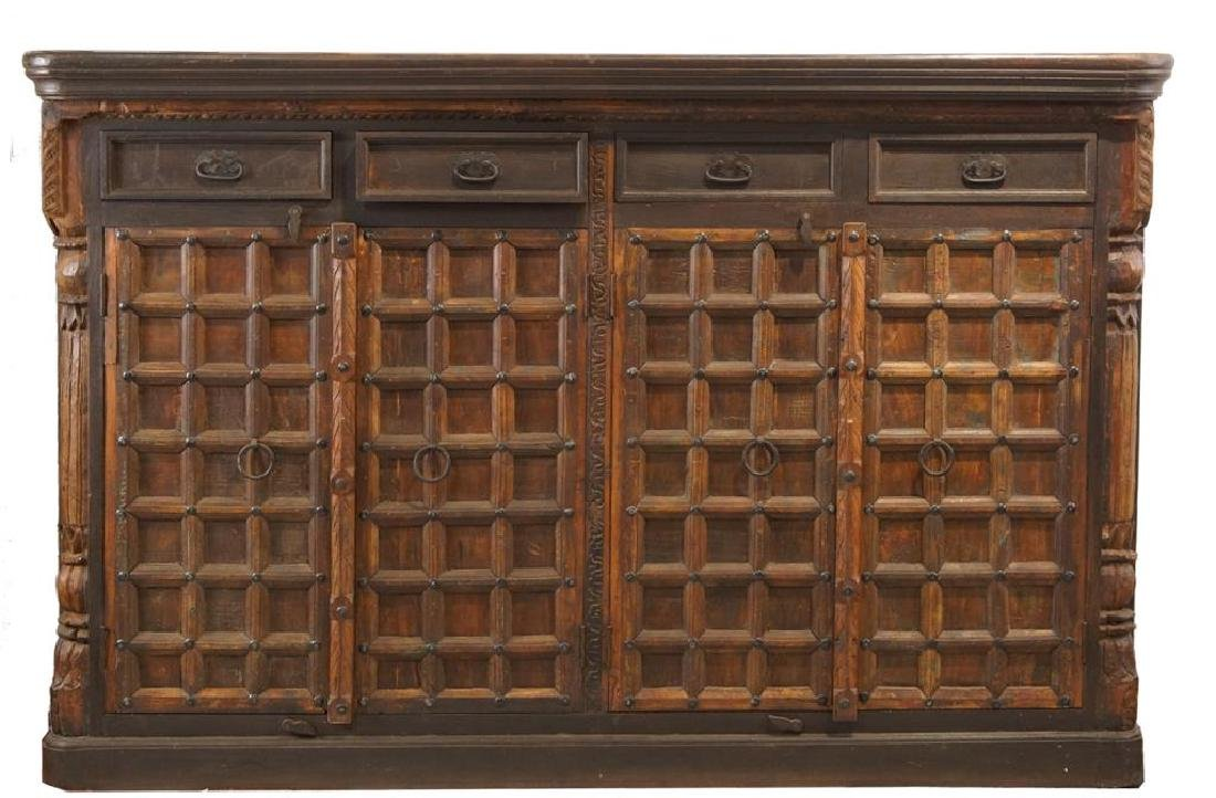 Rustic Spanish style cabinet