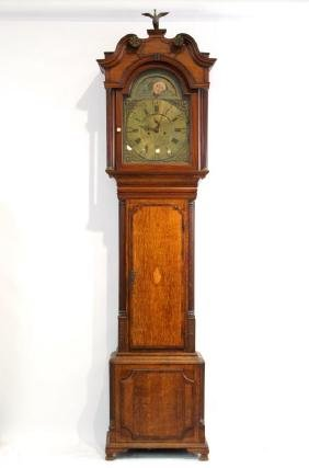 Richardson Weaverham antique moon phase tall clock