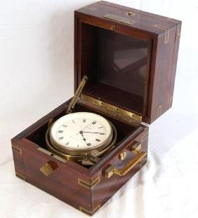 Cased Concord Maritime Chronometer