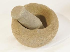 Native American Mortar and Pestle