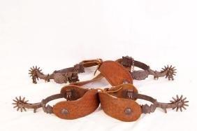 E. Garcia spurs - 2 pair