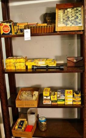 Huge Collection of Vintage Ammo - Scope