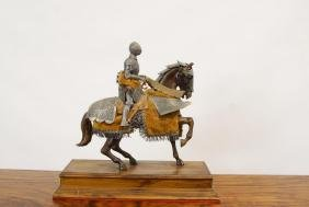 Knight Statue on Steed