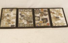 Cased Military Badges & Medals