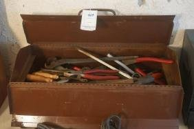 Tool Box filled with tools