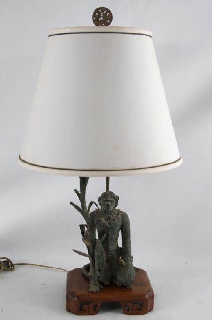 Monkey king lamp with shade chinese monkey king lamp with shade geotapseo Gallery