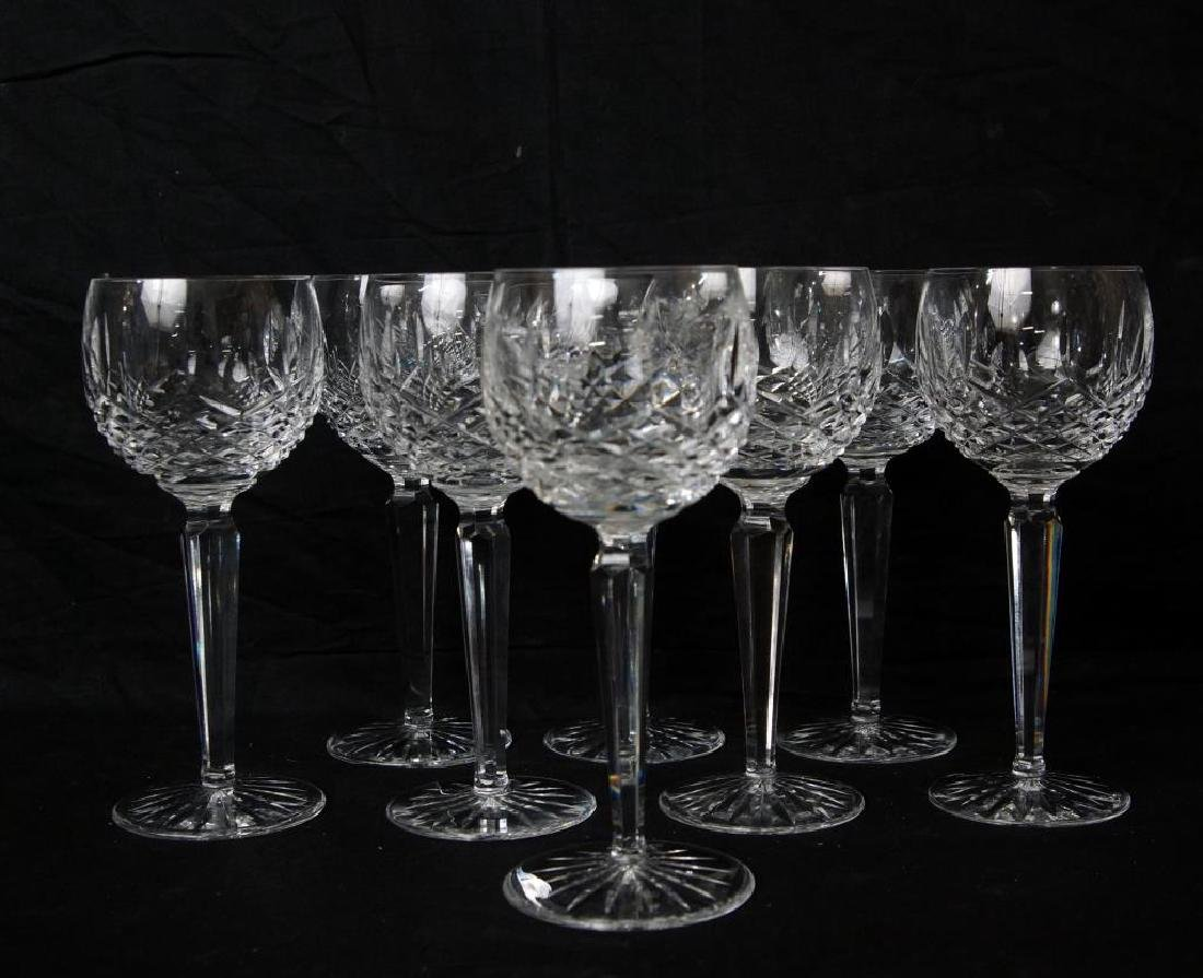 Waterford wine goblets - Lismore