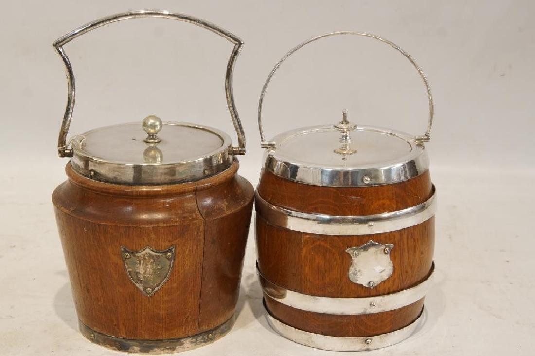 2 Antique Oak Humidors