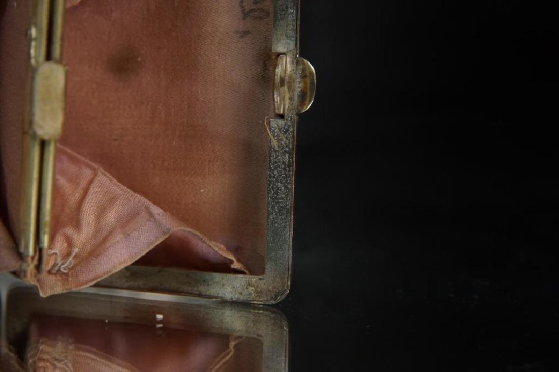 Antique Silver Purses, cigarette & match cases - 6